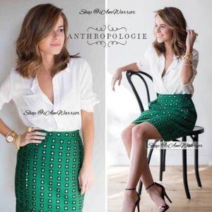 Anthropology HD in Paris green skirt